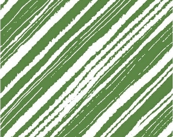 Diagonal Accent Stripe - Maria Carluccio for Windham  51155-2 Green - Priced by the Half Yard