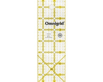 OmniGrid - Rectangle Ruler - OMNR258 - 2.5-Inch x 8 Inch - sold by the each