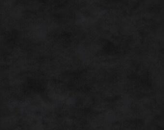 Solid Fabric - Black Tonal Fabric - Shadow Play by Maywood Studios MAS513 J5 Black - Priced by the 1/2 yard