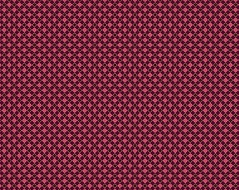 Closeout - Checkered Fabric - Aubrey Check in Burgundy by Studio E Fabrics  1725 22 - SOLD by the yard
