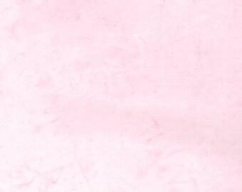 Hoffman Bali Batik - Hoffman Fabrics - 1895 493 Pink Lemonade - Pale Pink  - Priced by the Half Yard