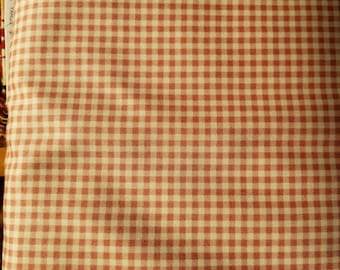 Gingham Check - My Secret Garden, -  Marti Michell and Maywood Studios MAS 610 P Dusty Pink- Priced by the 1/2 yard