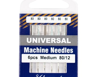 Klasse Universal Machine Sewing Needle - Size 80/12 - Pack of 5