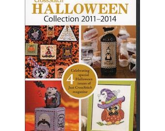 Halloween Patterns - Just CrossStitch Halloween Back Issues Collection 2011-2014 DVD - Annie's Publication - Hand Work