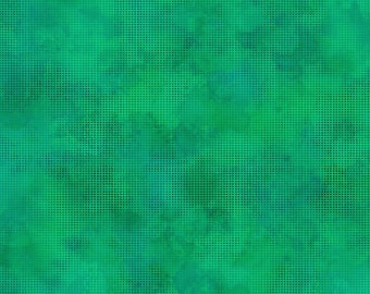 Dit Dot Evolution Fabric  - Marble Fabric - In the Beginning Fabric -  1DDE-27 Teal - Priced by the 1/2 yard