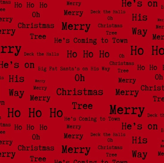 christmas words fabric christmas phrases around town christmas by dt k signature studio e 3720 88 red per half yard