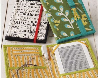 E-Reader Cover - Reader Wrap - Atkinson Design ATK 156 - DIY Project, DIY Gift