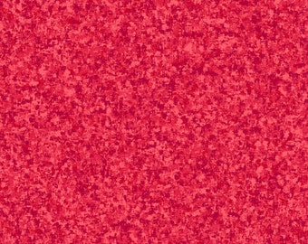 Azalea Pink Solid Textured Fabric - Quilting Treasures QT Basics Color Blend - 23528 RA - Priced by the 1/2 yard