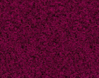Mulberry Solid Textured Fabric - Quilting Treasures QT Basics Color II Blender - 23528 VM - Priced by the 1/2 yard