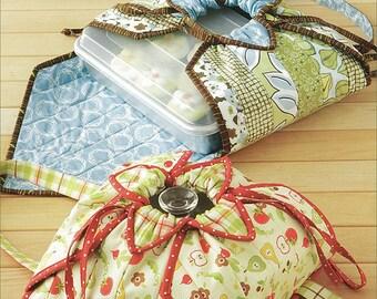 Hot Stuff  Casserole Carry Pattern - by Atkinson Designs ATK-163 - DIY Pattern only