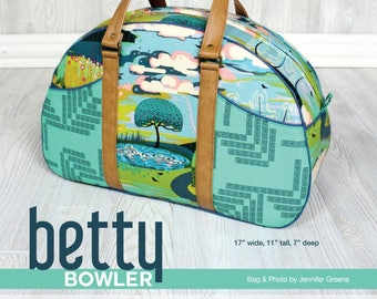 Betty Bowler Bag, Day Trip Bag -  by Swoon Sewing Patterns - DIY bag