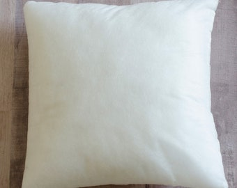 """Blank Pillow Forms  Bench Buddies - for Kimberbell Designs - DIY Project - choose 8-inch square or 5""""x9"""" Rectangle"""