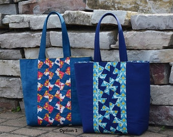 Center Twist Tote Bag - Twister Sisters TWS 107 - Pattern Only - DIY Project