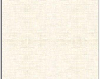David Textiles Linen Blend - Pastel Solid 52-Inch width - Linen/Rayon Blend - 4458 4L 7 - Ivory - Priced by the half yard -