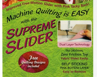 """Supreme Slider Free Motion Machine Quilting Teflon Pad by LaPierre Studio # SS7 - 8""""x11.5"""" - sold by the each"""