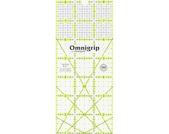 OmniGrip - Rectangle Ruler - RN39G - 3-Inch x 9-inch - sold by the each