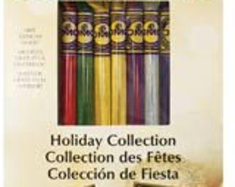 DMC Holiday Embroidery Thread Set - 8-color Variations Collections