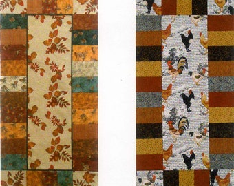 """Seasons Table Runner Pattern - Mountain Peek Creations - MPC 280 Pattern - DIY Project - Finishes ~20""""x41"""""""