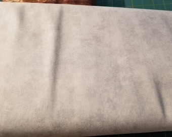 Solid Fabric, Blender Fabric - Shadow Play by Maywood Studios MAS513 WWK Lt Gray - Priced by the half yard