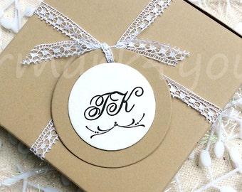 50 Circle Personalized Tag_Personalisert Hänger_ Etichette Personalizzati_Etiquettes personnalisées_Personalized Wedding Favor