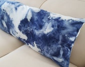 Minky Full Body Pillow Cover Super Soft Comfy Minky Cuddle Tie Dye in sizes 50x18 to 72x18 with Zipper