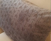 Full Body Pillow Cover Super Soft Comfy Minky Cuddle Embossed Arrow 50 quot x18 quot to 72 quot x18 quot with Zipper
