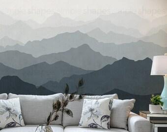 406b552b2dae Mountain Mural Wallpaper