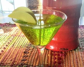Caramel Apple Martini Gel Wax Candle