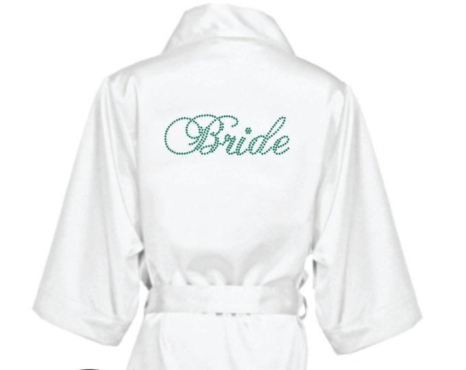 e761e5cd5d Bridal party robes - Hanging Memories