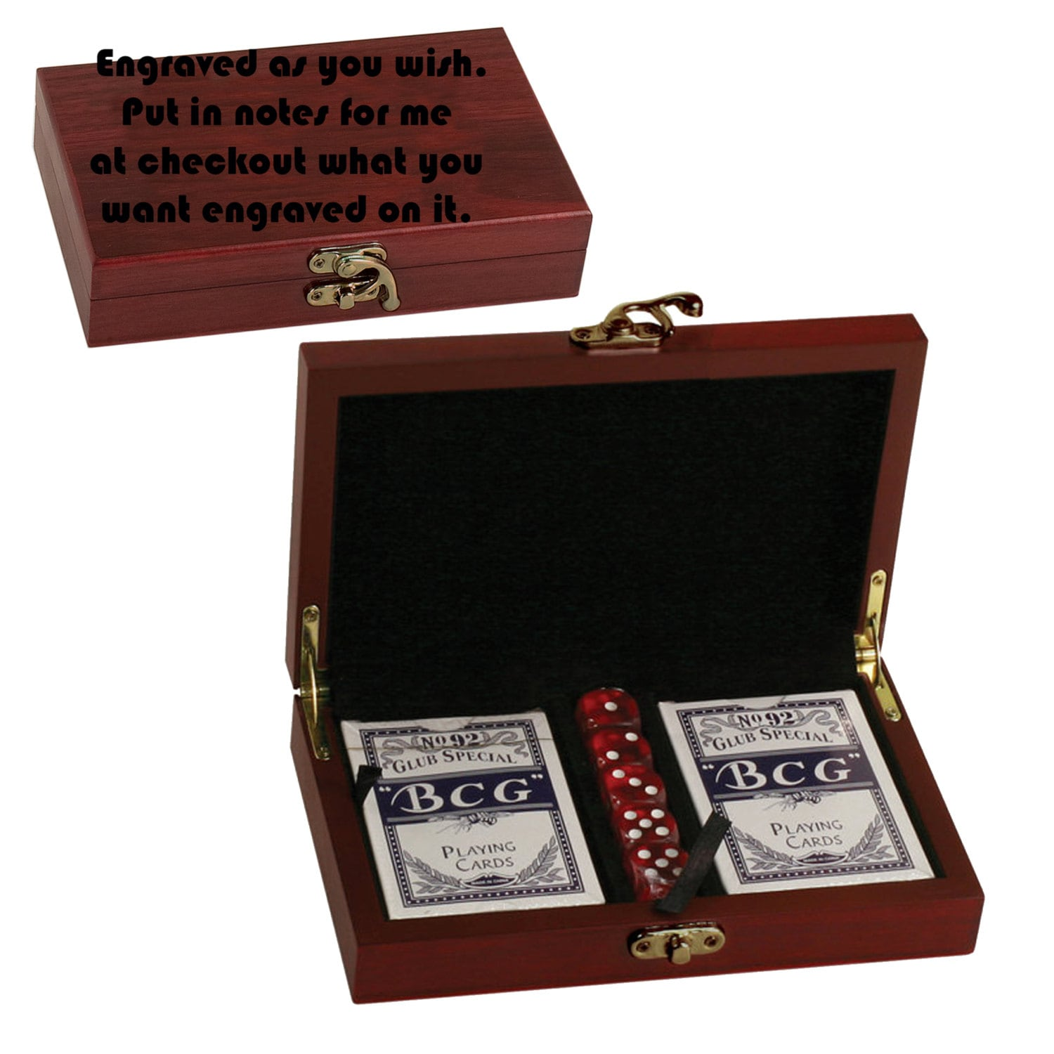 Personalized Playing Cards Set Custom Poker Groomsmen Gift For Him Player Men Birthday Ideas