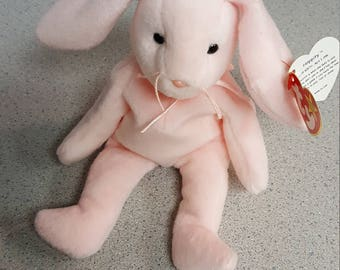 bcbcf10dd2a Hoppity Bunny Beanie Baby Ty Toys 1996 with Tag