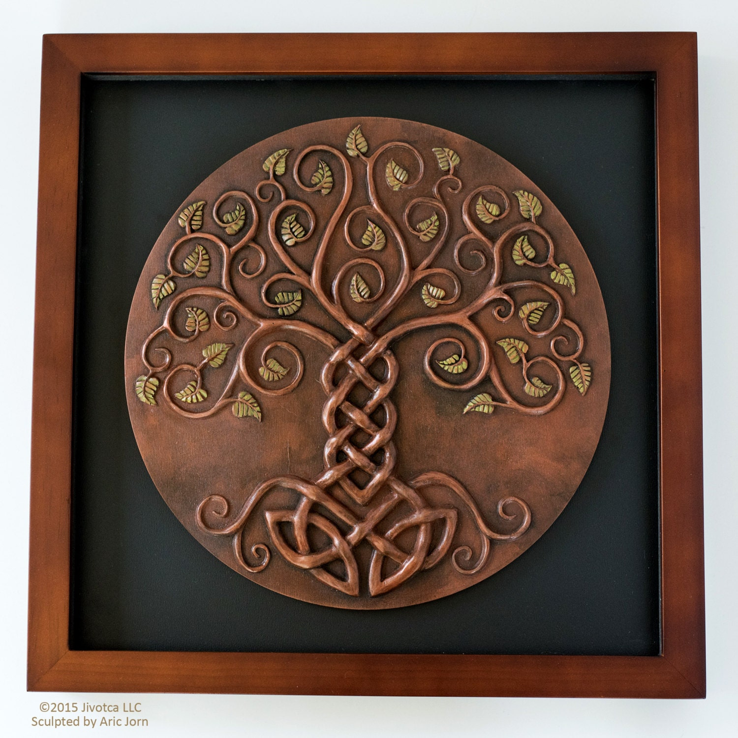 Yggdrasil: The World Tree. Cold-cast Relief Sculpture with   Etsy
