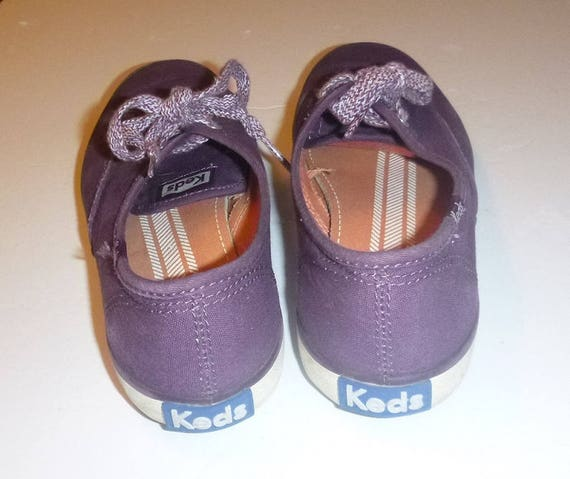 5 Grape 90s Ladies Runners Summer Running Shoes Skater Vintage Size Color Shoes 5 KEDS 35 Classic PURPLE Cute 5 1990s American SNEAKERS Euro wpFOfx8