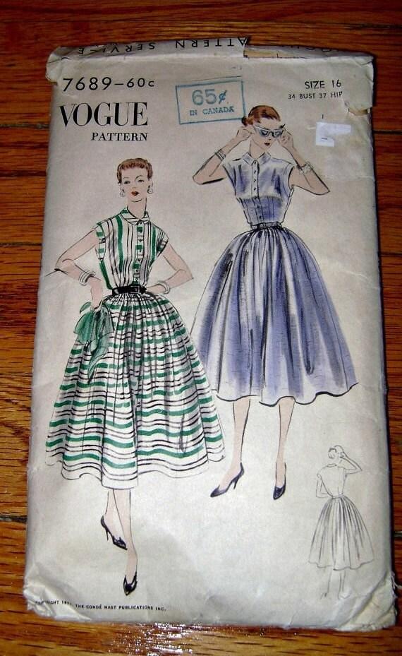Vintage Mode der 50er Jahre Kleider nähen Muster der 1950er | Etsy
