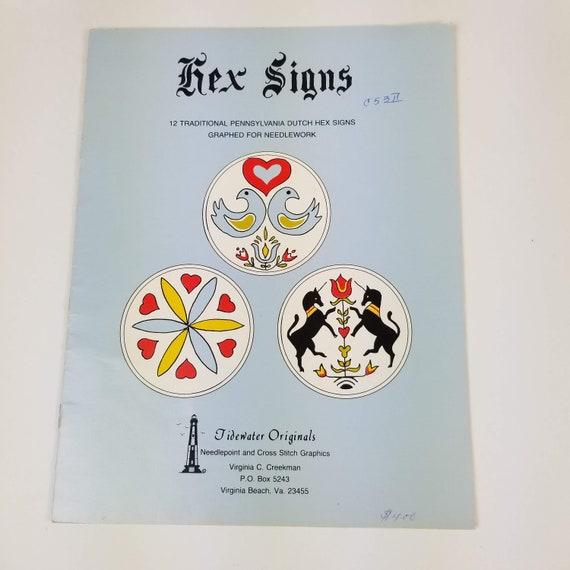 vintage tidewater originals pennsylvania dutch hex signs cross