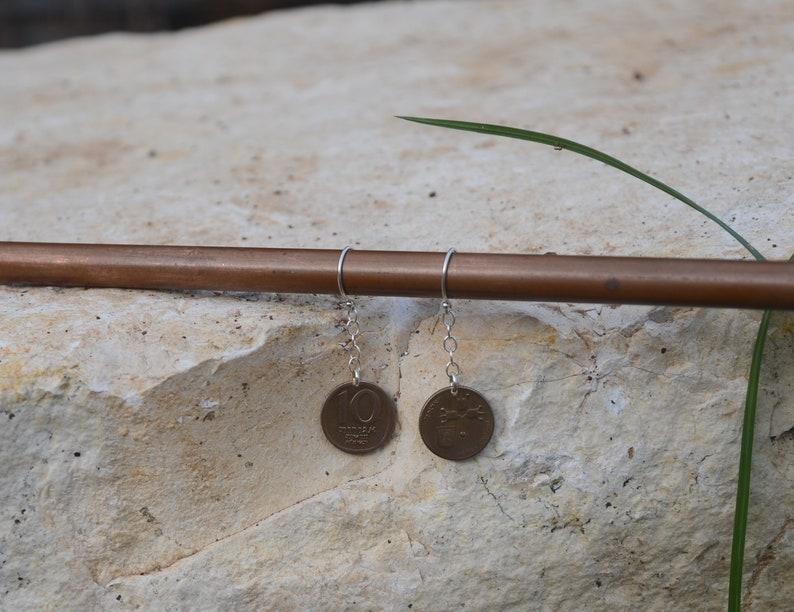 Silver Earrings From Israel