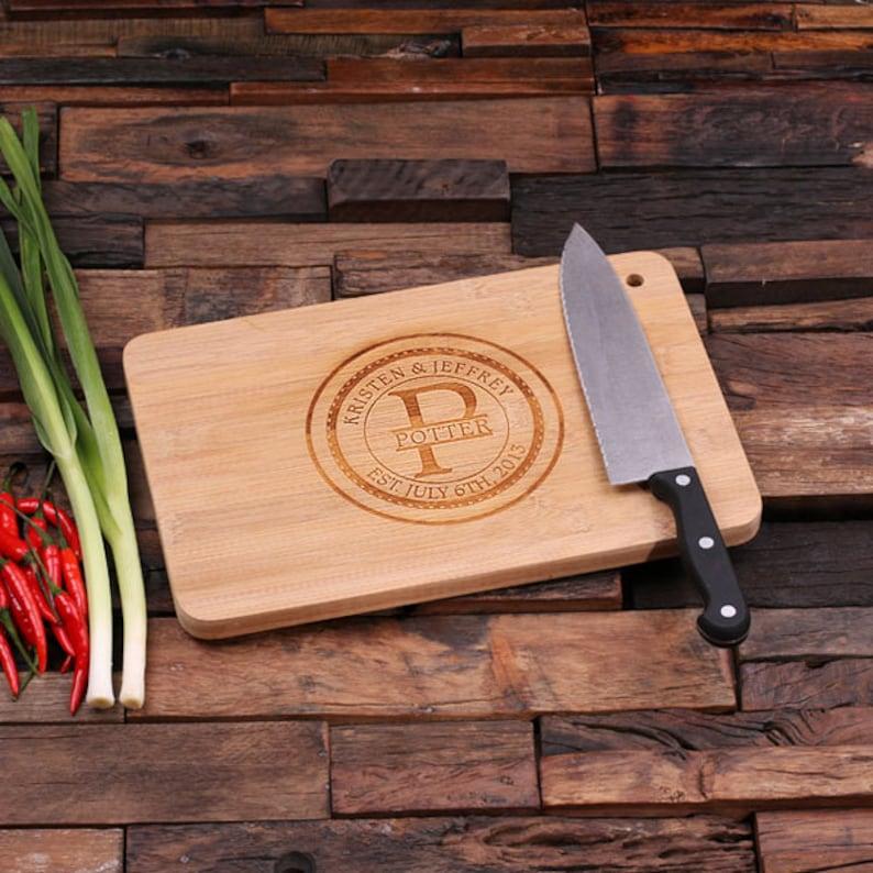 Chopping & Serving Boards Personalized Custom Cedar Wood Cutting
