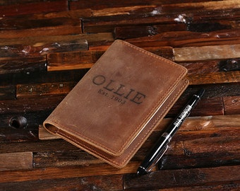 Personalized Leather Engraved Passport Holder, Travel Wallet, Passport Case, Document Wallet