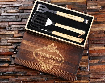 New Personalized Bar tool Set