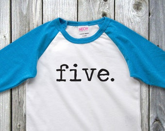 Fifth Birthday Shirt Birthday Shirt 5th Birthday 5th Birthday Shirt 5th Birthday Boy Boys Birthday Shirt 5 Birthday Boys Birthday Tee Five