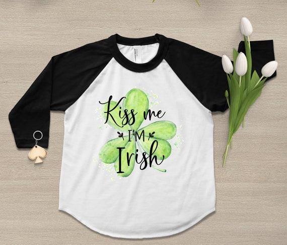 "Jumping Beans /""Kiss Me I/'m Irish/"" Tee 18M 24M size 12M"