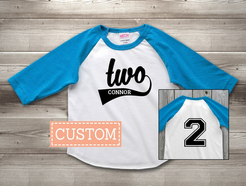 Personalized 2nd Birthday Shirt Second