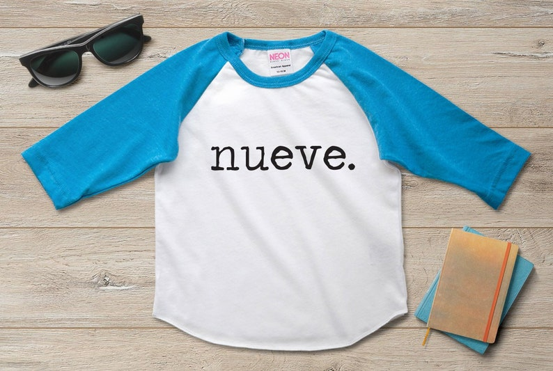 Nueve 9th Birthday Shirt Outfit