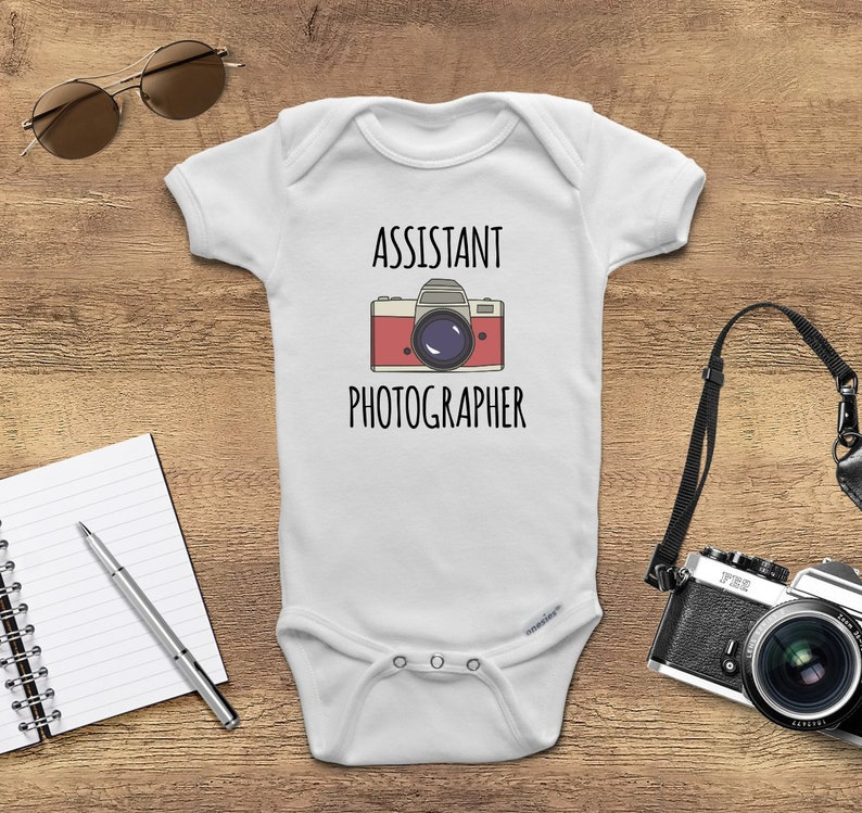 e2889af75 Gift Idea for Photographer Dad ONESIES ® Brand Baby | Etsy