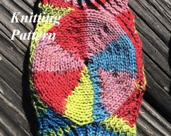 Trivial - Fingerless Gloves - Knitting Pattern