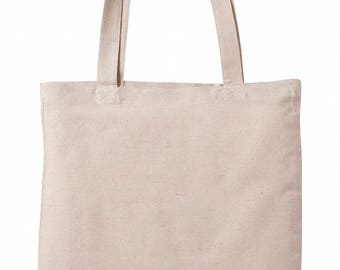 Heavy-weight Canvas Tote Bag (Natural Colour)
