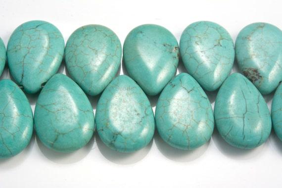 4 Pcs 13x18mm Verde De Piedra Natural Cabuchones