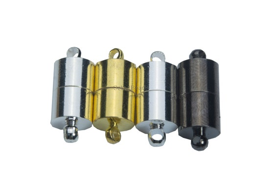 10 stücke Messing Kristall Magnetischen Konverter DIY Stecker Verschluss