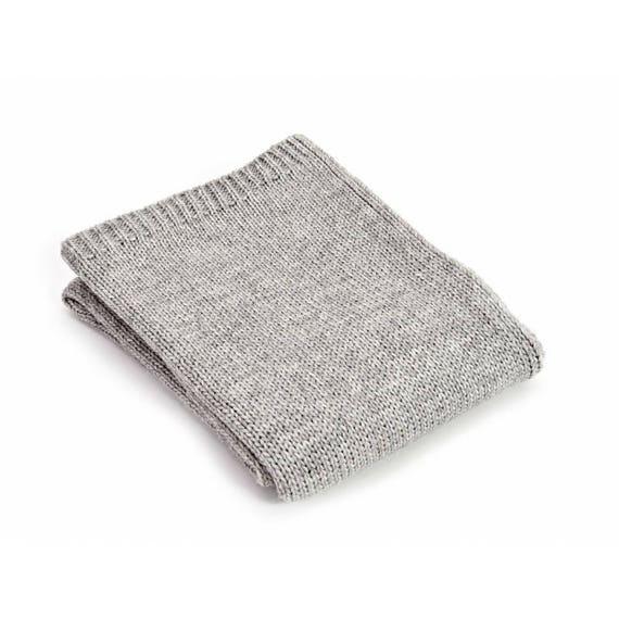 10631be238 Grey Throw Blanket Alpaca Wool Sofa Throw Grey Bed Throw
