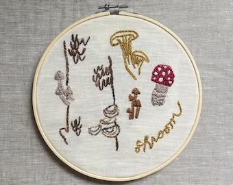 Shroom Embroidery Kit